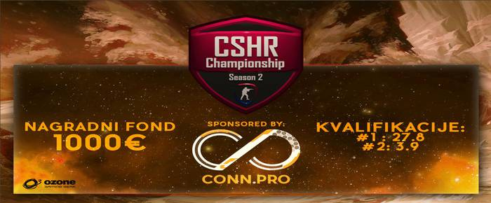 CS:GO ZAVRSNICA: CSHR Championship 2Date : 03.10.2015. Location : Karlovac, Croatia Type : TUP ( Headset, mouse, keyboard, mousepad. ) Number of teams : 4 Organizer :...[više]